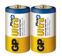Батарейка GP D (LR20) Ultra Plus Alkaline 13AUP-S2 Щелочные батарейки  GP Batteries