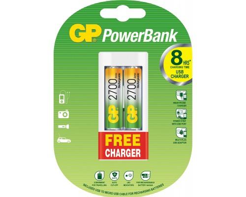 Зарядное устройство для аккумуляторных батарей GP PowerBank GPU211