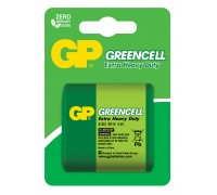 Батарейка GP Greencell 312G-C1, 3R20, 4.5V