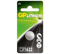Литиевая батарейка GP CR1632-U1, 3V