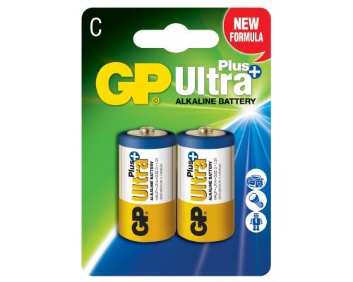 Батарейка GP C (LR14) Ultra Plus Alkaline 14AUP-U2