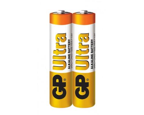 Батарейка GP AAA (LR03) Ultra Alkaline 24AU-S2