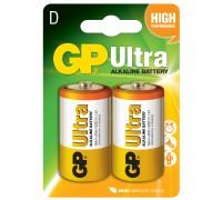 Батарейка GP D (LR20) Ultra Alkaline 13AU-U2 Щелочные батарейки  GP Batteries