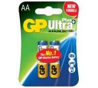 Батарейка GP AA (LR6) Ultra Plus Alkaline 15AUP-U2
