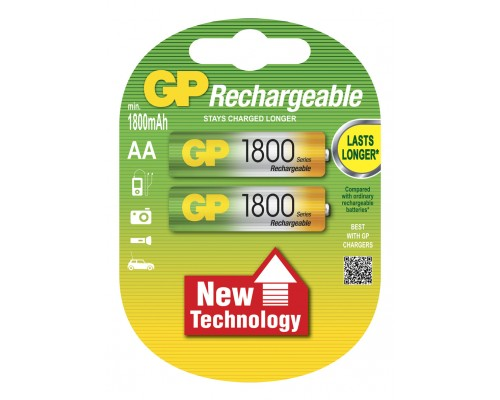 Аккумуляторная батарейка GP Professional 180AAHC-U2, 1.2V