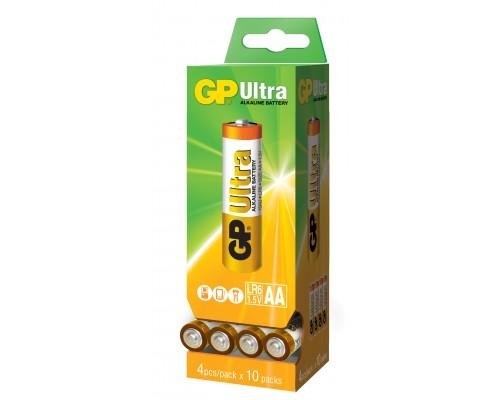 Батарейка GP AA (LR6) Ultra Alkaline 15AU-DP40