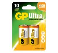 Батарейка GP C (LR14) Ultra Alkaline 14AU-U2