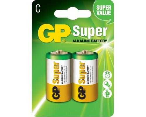 Батарейка GP C (LR14) Super Alkaline 14A-U2