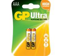 Батарейка GP AAA (LR03) Ultra Alkaline 24AU-U2