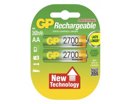 Аккумуляторная батарейка GP Professional 270AAHC-U2, 1.2V