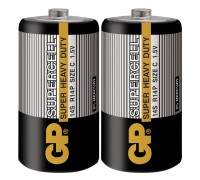 Батарейка GP Supercell 14S-S2, R14, C, 1.5V