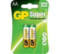 Батарейка GP AA (LR6) Super Alkaline 15A-U2