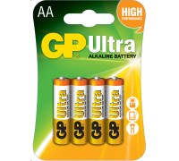 Батарейка GP AA (LR6) Ultra Alkaline 15AU-U4 Щелочные батарейки  GP Batteries