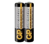 Батарейка GP Supercell 24PL-S2, LR03, ААА, 1.5V