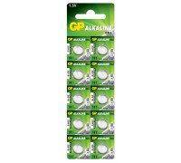 Батарейка GP AG8, 191-U10, LR55, 1.5V Alkaline Щелочные батарейки  GP Batteries