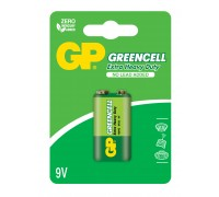 Батарейка крона GP Greencell 1604G-U1, 6LF22, 9V