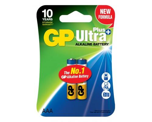 Батарейка GP AAA (LR03) Ultra Plus Alkaline 24AUP-U2
