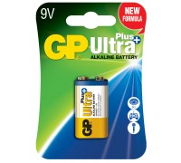 Батарейка GP 6LF22 (крона) Ultra Plus Alkaline 1604AUP-U1