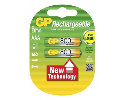 Аккумуляторная батарейка GP Professional 80AAAHC-U2, 1.2V