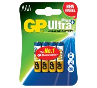 Батарейка GP AA (LR6) Ultra Plus Alkaline 24AUP-U4