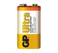 Батарейка GP 6LF22 (крона) Ultra Alkaline 1604AU-S1