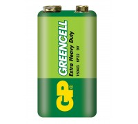Батарейка крона GP Greencell 1604G-S1, 6LF22, 9V Солевые батарейки  GP Batteries