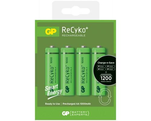 Аккумуляторная батарейка GP ReCyko+ Smart Energy 100AAHCE-U4