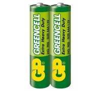 Батарейка GP Greencell 24G-S2, R3, ААА, 1.5V