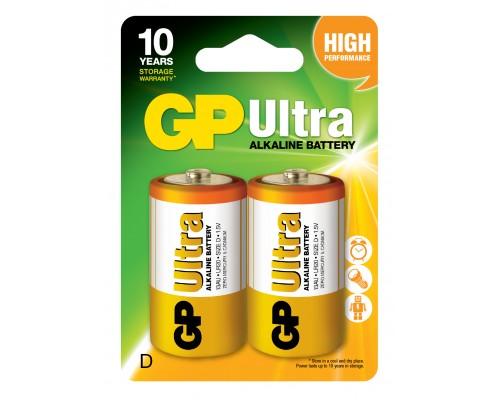 Батарейка GP D (LR20) Ultra Alkaline 13AU-U2
