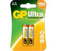 Батарейка GP AA (LR6) Ultra Alkaline 15AU-U2