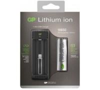Зарядное устройство GP L111 для аккумуляторных батарей 18650 Зарядные устройства  GP Batteries